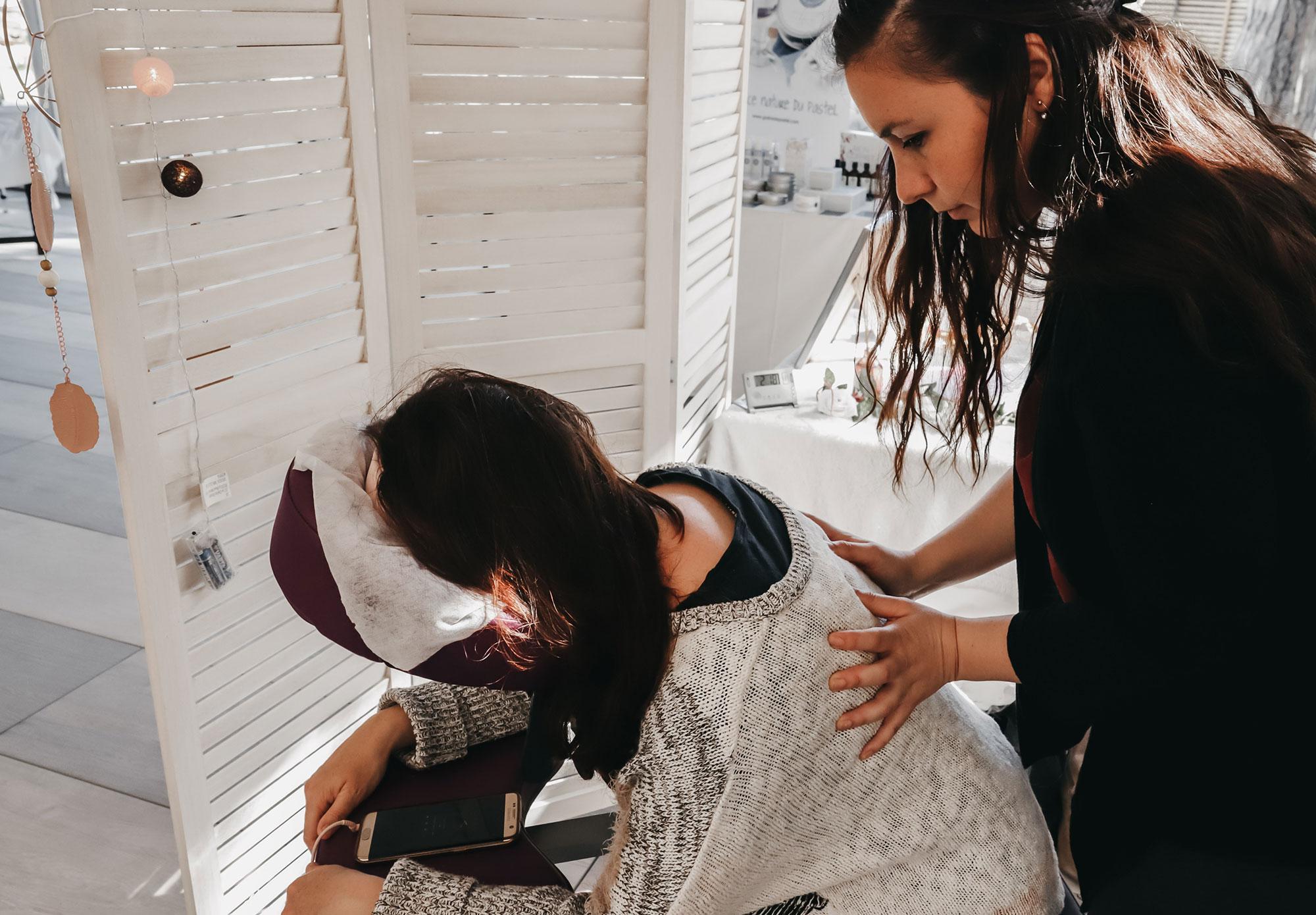 Anahava Massages | Praticienne de massages assis bien-être Montpellier